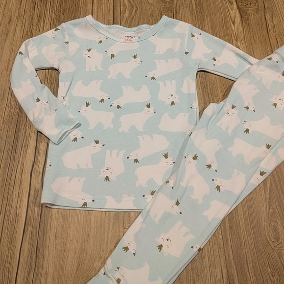 7032bd90d Carters Winter Holiday Toddler Pajama Sets 4